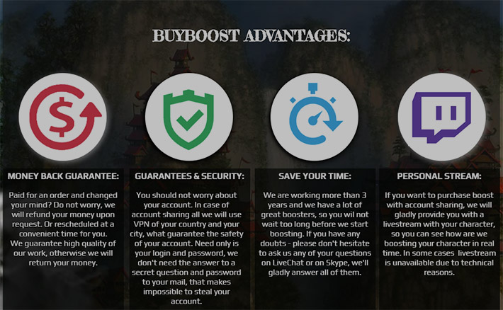 Buyboost advantages